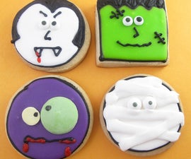 monster face cookies