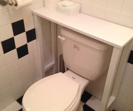 Toilet Shelf
