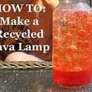 How To Make A Recycled Lava Lamp!