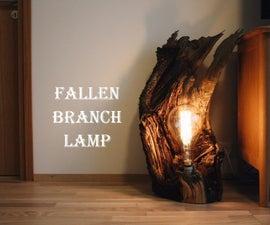 Fallen Branch Lamp