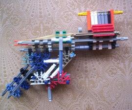 Auto Loading True Trigger Knex Gun/Pistol by bannana inventor