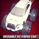 Reusable RC Paper Car