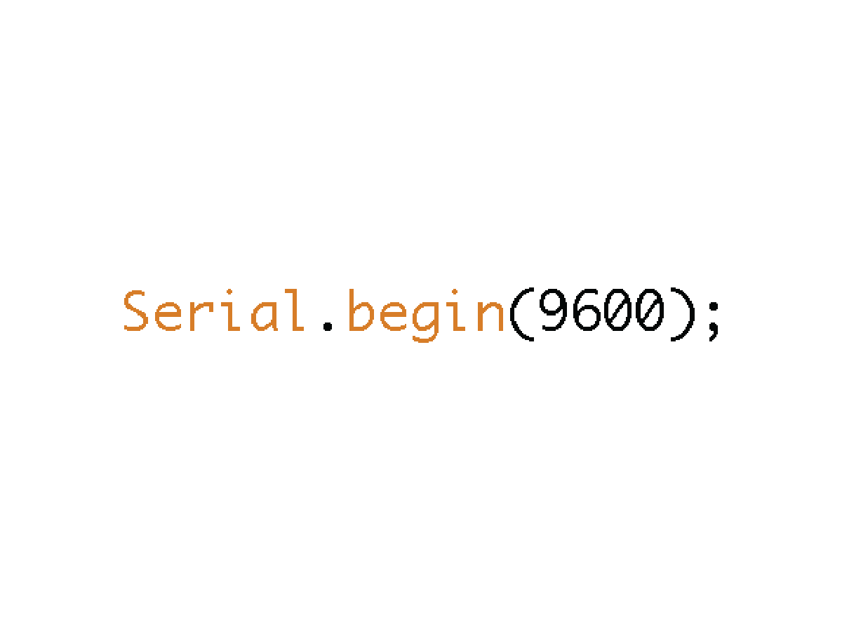 Picture of Start Serial Communication