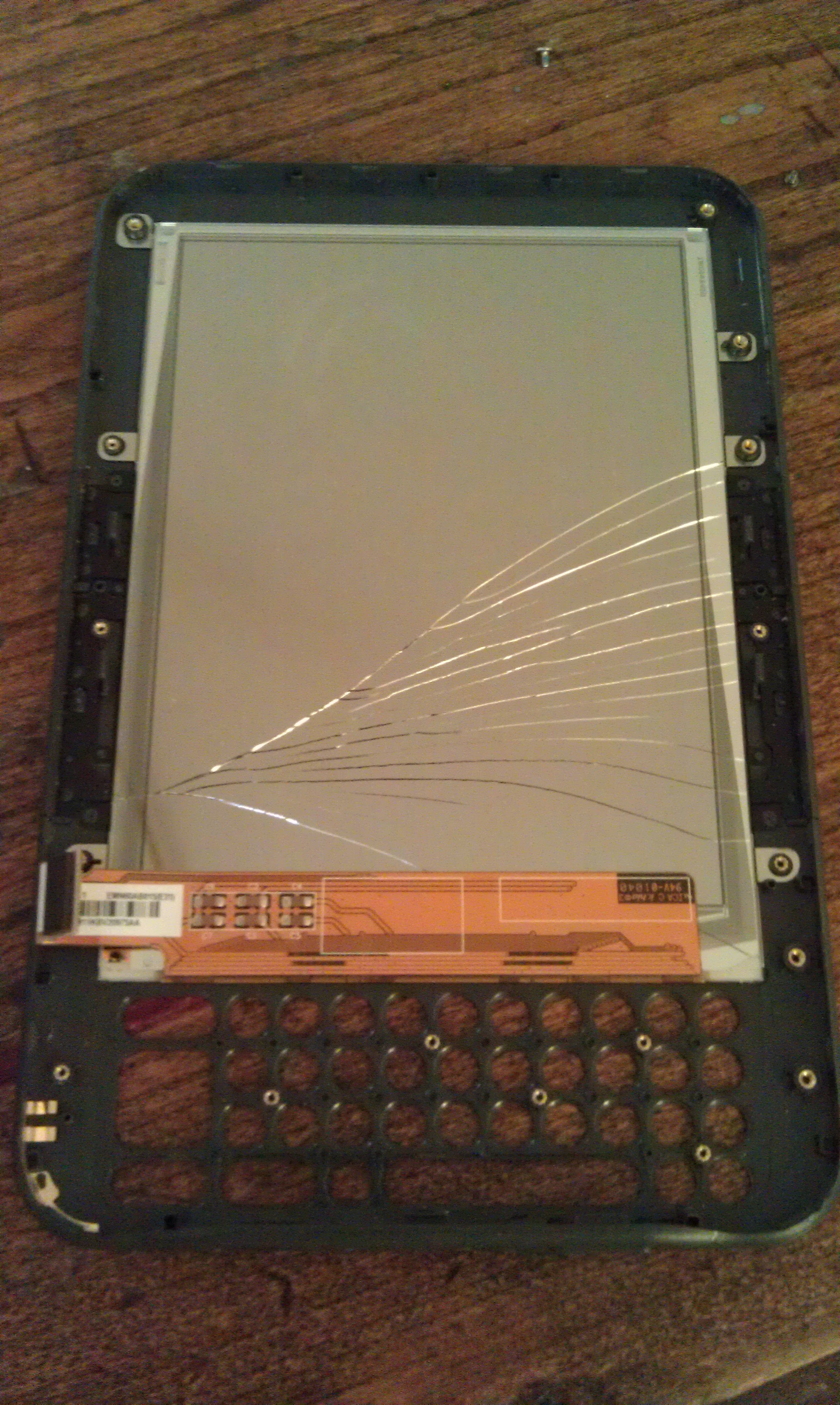 Picture of Fix Your Broken Kindle Keyboard Screen