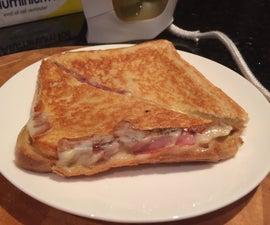 Iron 'toasted' sandwiches