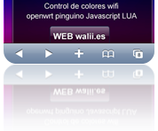 RGB REMOTE (pinguino+web+linksys)