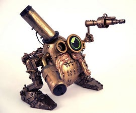 How to make a Steampunk Mr. Potato Head