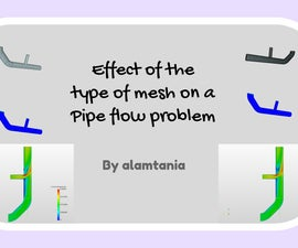 Analyzing the Effect of Mesh Type on a Pipe Flow Problem Using SimScale