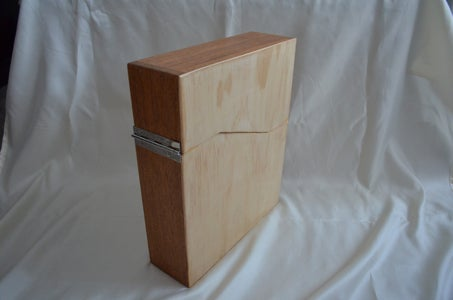Easy to Make Wooden Magazine, File or Book Box