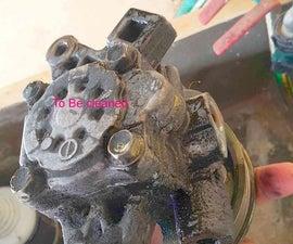 Preserving a power steering pump.