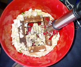 Low cost vegetable cutter