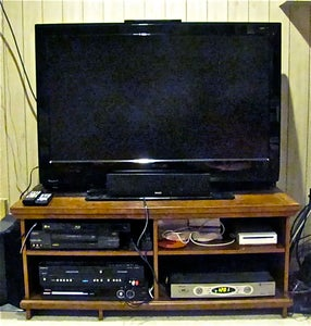 Furniture 'Surgery' for a New Entertainment Center