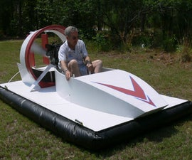 10 HP Hovercraft