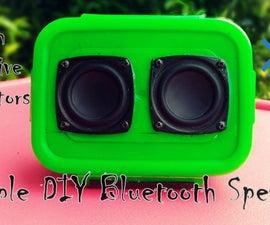 Simple DIY Bluetooth Speaker