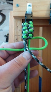 Continuing Making the Knots.