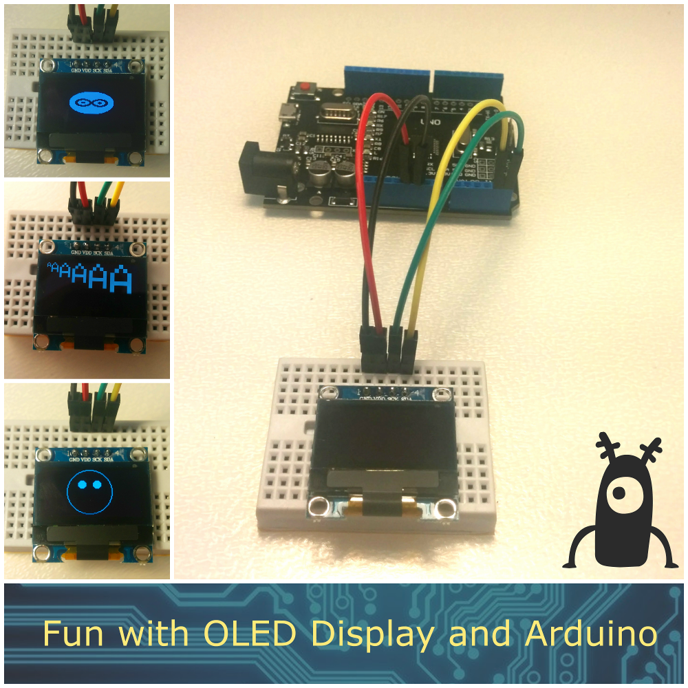 Picture of Fun With OLED Display and Arduino