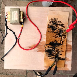 Woodburning With Electricity