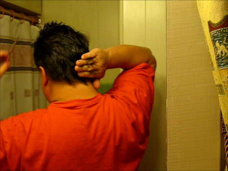 Picture of And NOW:  the BACK of the Head!
