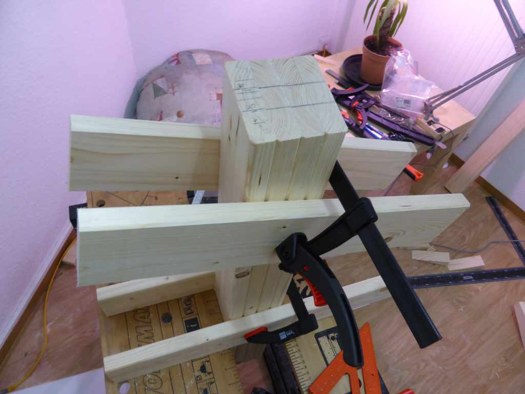 Picture of Building the Legs and Rails
