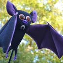 Bat on a Stick Puppet
