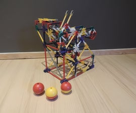 Knex Ball Machine Separator (3 Outputs)