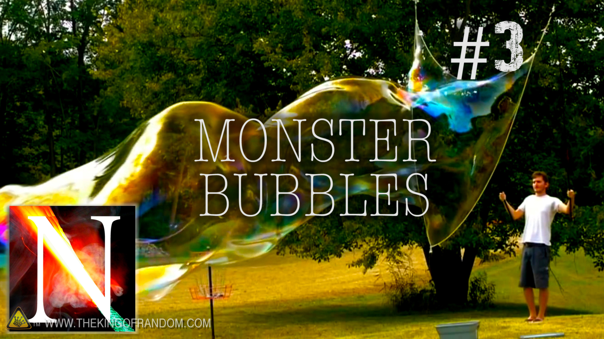 Picture of Monster Bubbles - Night Hawk in Light