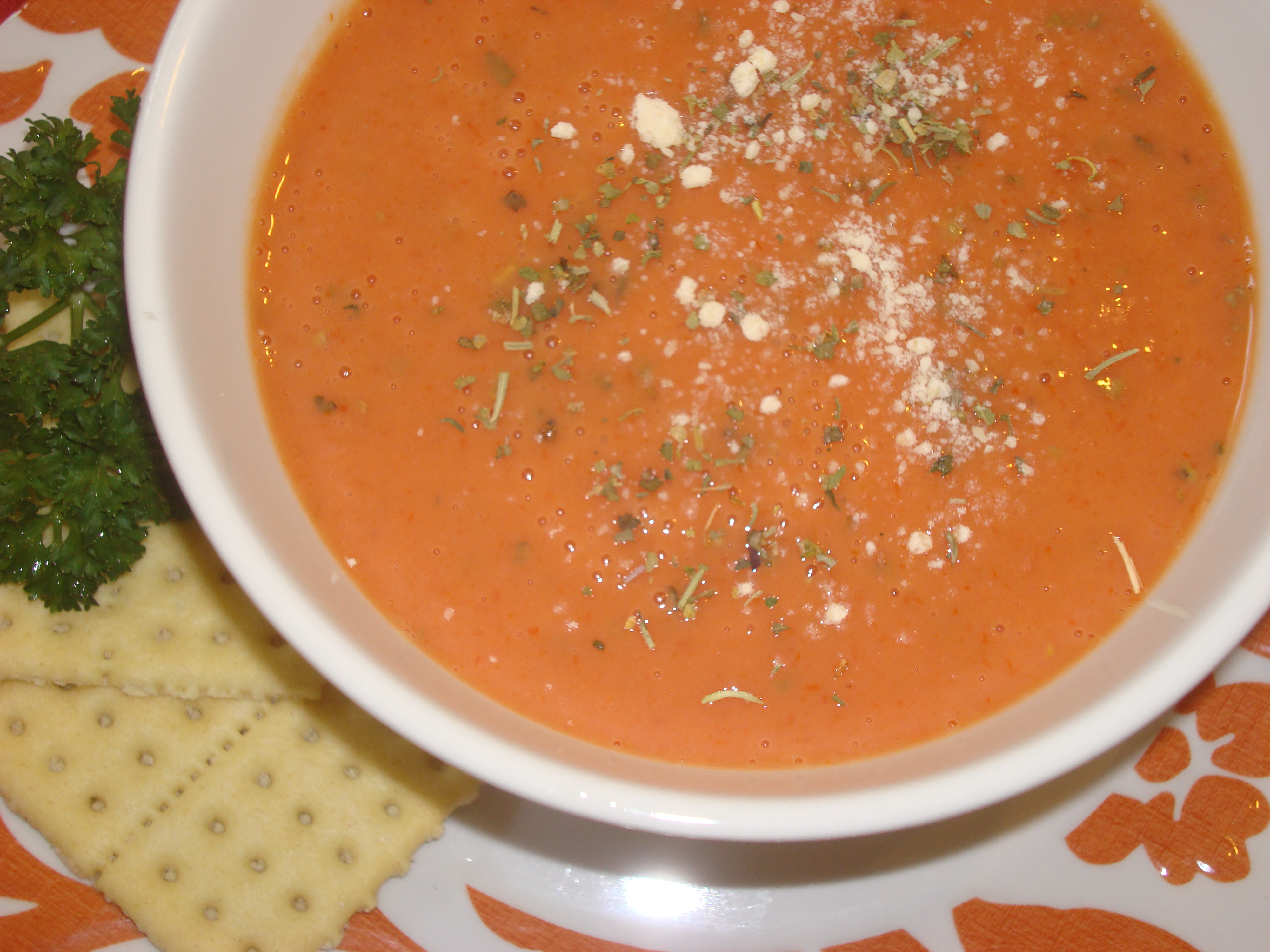 Picture of Flavor Up Canned Tomato Soup