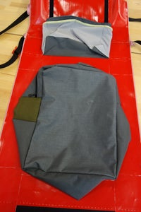 Upside-Down Pouch: Attaching