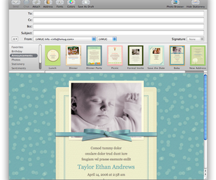 Easy Customizing of Apple Mail Stationery