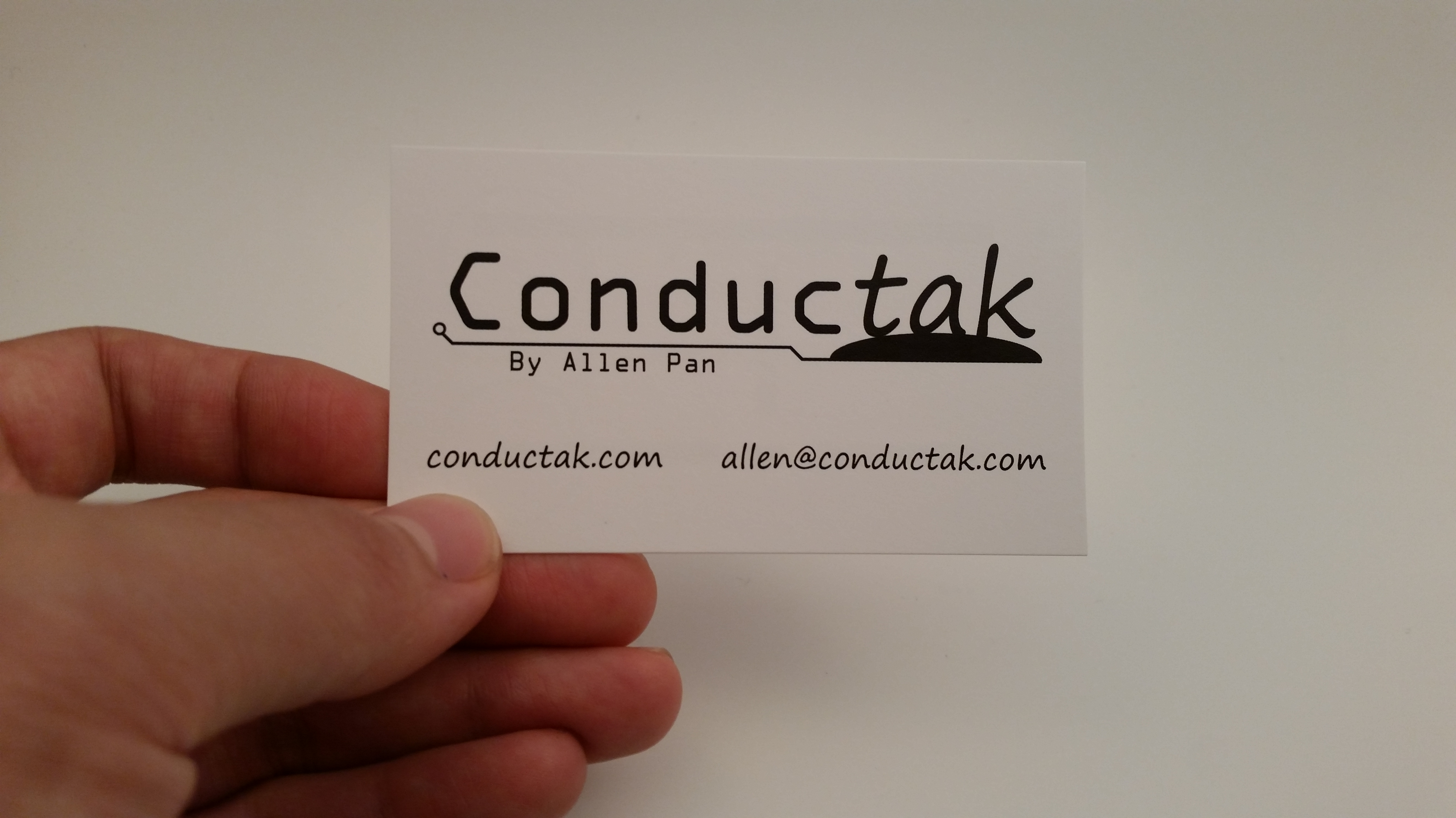 Picture of Conductak Business Card Flashlight!