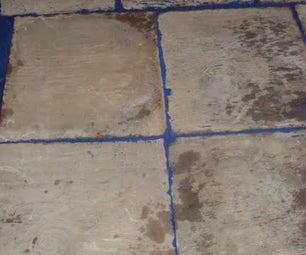 Concrete Paver Floor