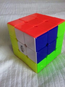 Rubiks Cube Tricks: Cube in a Cubed Model Two