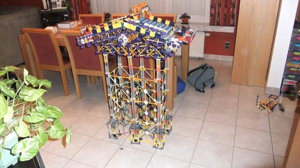 How to Make a Dual Pinball Machine of K'nex