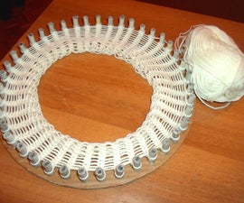 Cardboard Knitting Loom