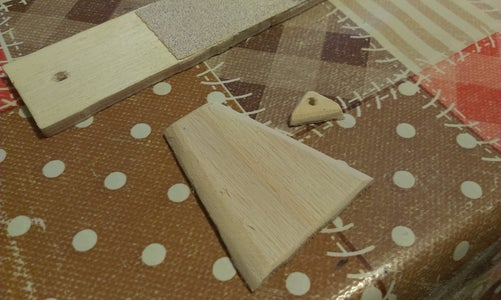 Sand Wooden Parts