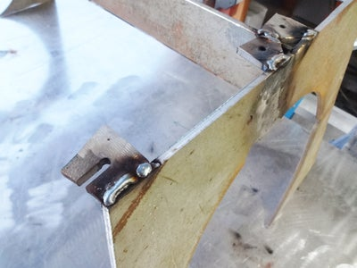 Weld Tabs to Base
