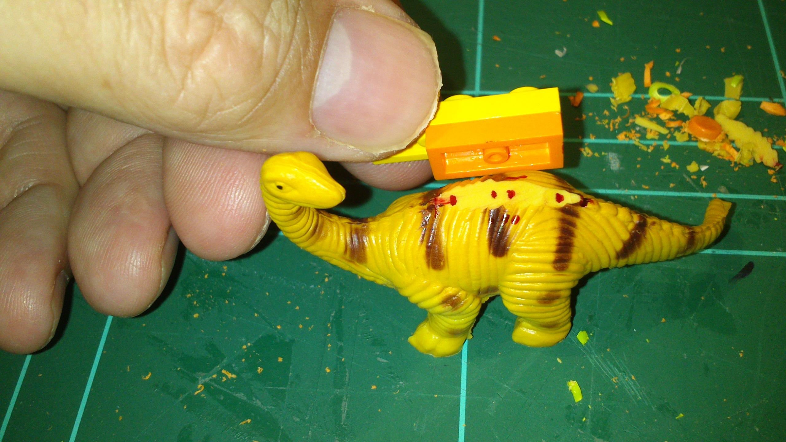 Picture of Legodocus, Kangaroolego, Alolego, Velocilego and L-Rex