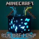 RGB Minecraft ore lamp
