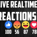Facebook Live Voting (Real-Time Reaction) Counting Using OBS