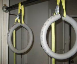How to make Gymnastics/Fitness Rings from PVC Conduit