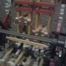 V 4  engine knex