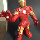 Clay Iron Man