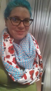 Double Sided Infinity Scarf
