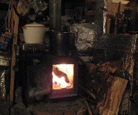 Cooking and baking on a woodstove