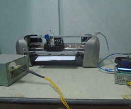 CNC with old printter