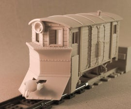 Model railroad collection - radio controlled (garden railway?) - 100% 3D-printable, LEGO connectable