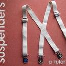 Dapper Dandy Suspenders {in ten minutes!}