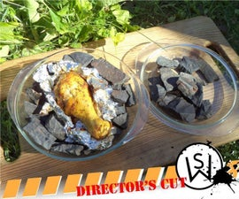 Solar Cooking With Magnetite (Director's Cut)