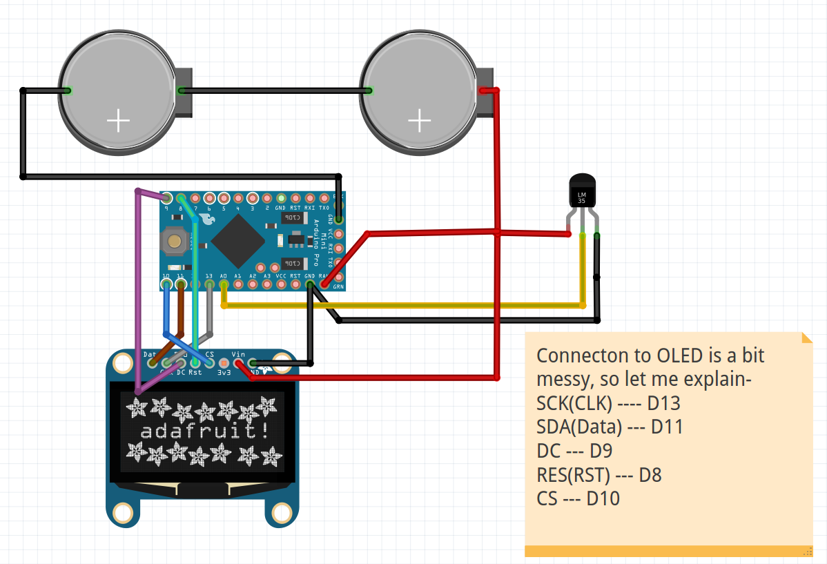 Picture of Schematic for Final Assembly