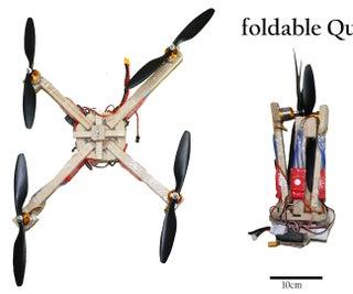 Foldable / Portable Quadcopter